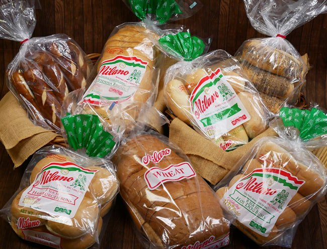 Milano Bakery Wholesale Bread